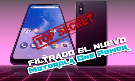 Motorola One Power: Filtrado el nuevo móvil de Motorola