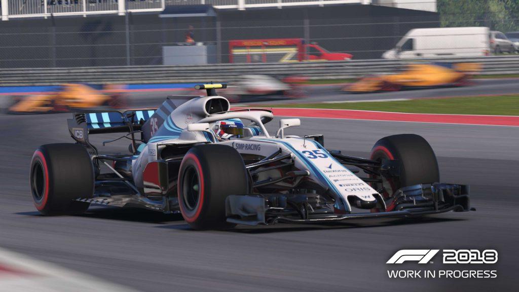 Formula 1 2018 - Captura PC