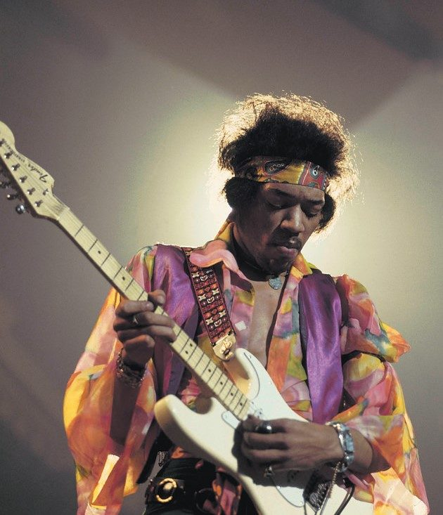 Jimi Hendrix en el Royal Albert Hall, Londres, 1969