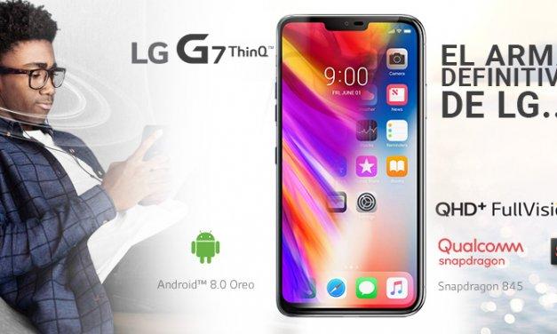 LG G7 ThinQ – LA RESPUESTA DE LG AL iPHONE X