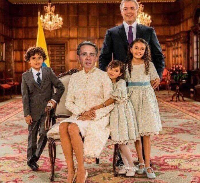 Ha llegado la Familia Duque a la Casa de Nariño