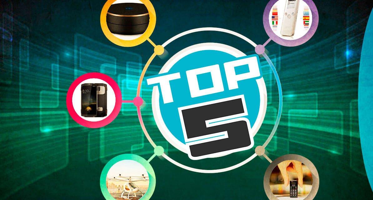 Top 5: Inventos Tecnológicos 2018
