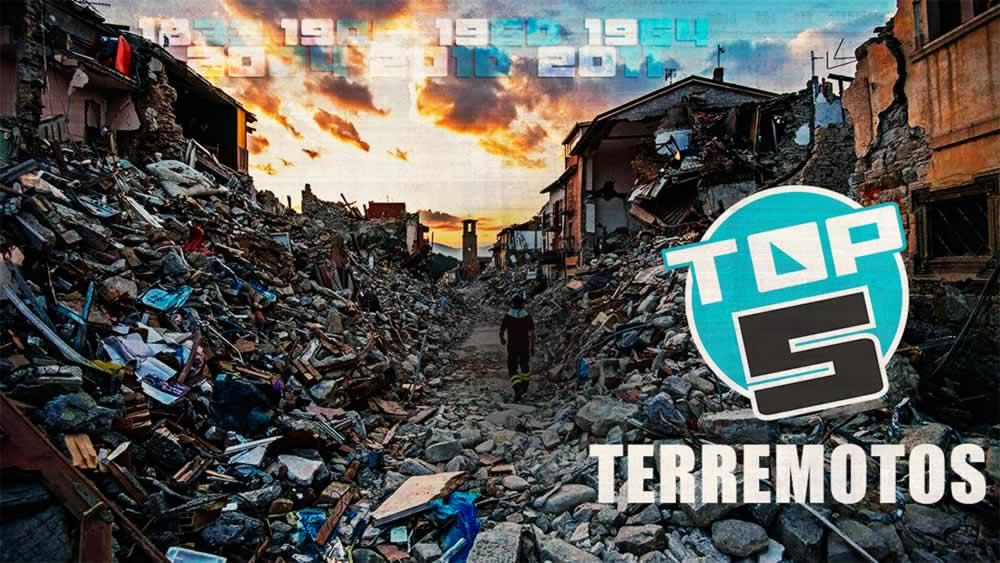 Top 5: Terremotos más fuertes de la historia