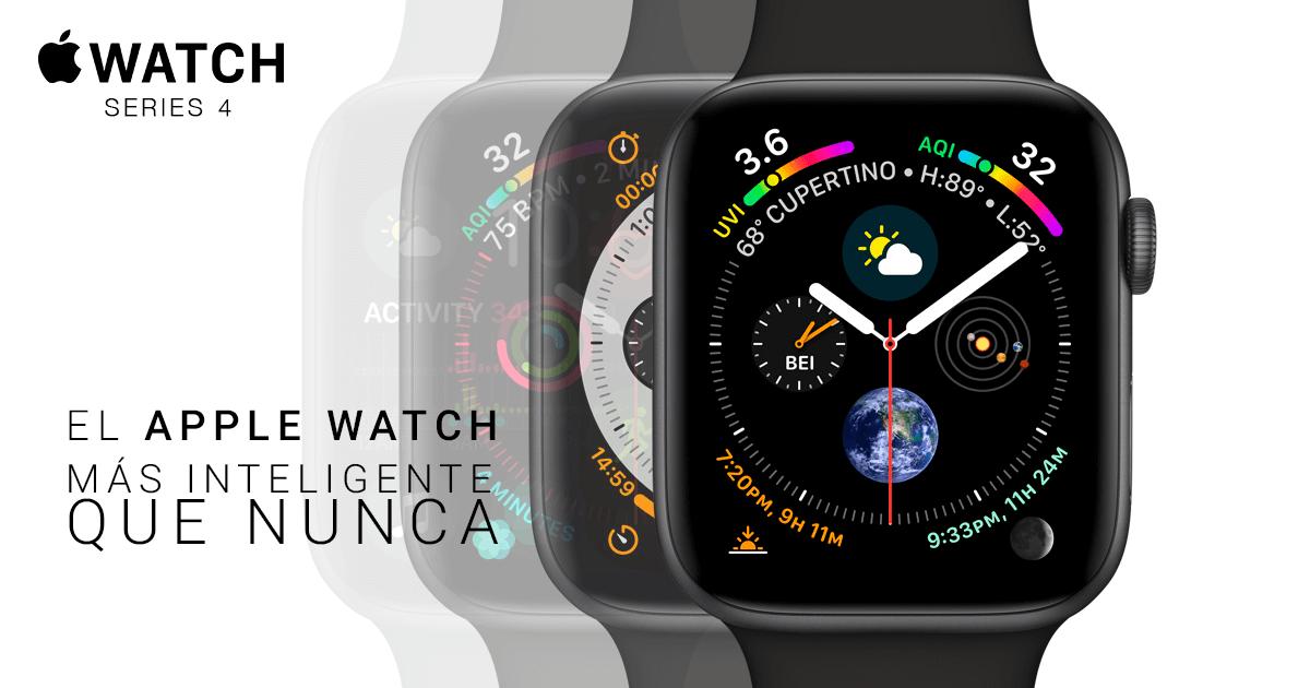 Apple Watch Series 4: El nuevo SmartWatch de la Manzana
