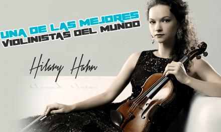 Medellín se viste de gala: Hilary Hahn, una de las mejores violinistas del mundo