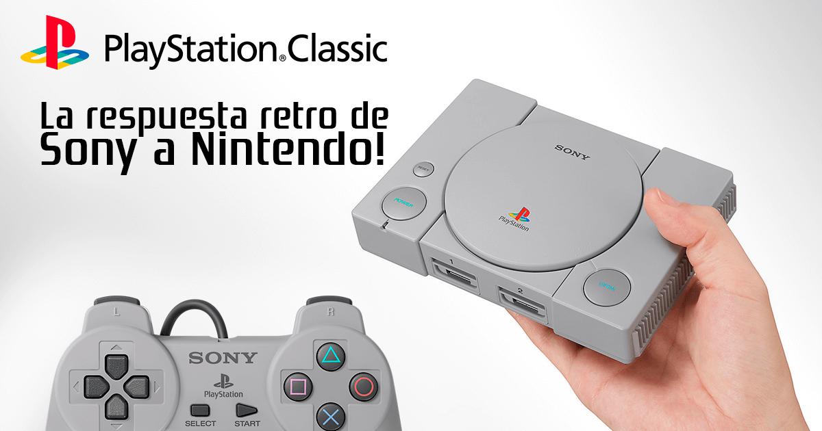 Playstation Classic: La respuesta retro de Sony a Nintendo!