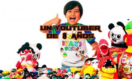 El Youtuber mejor pagado del mundo tiene 8 años