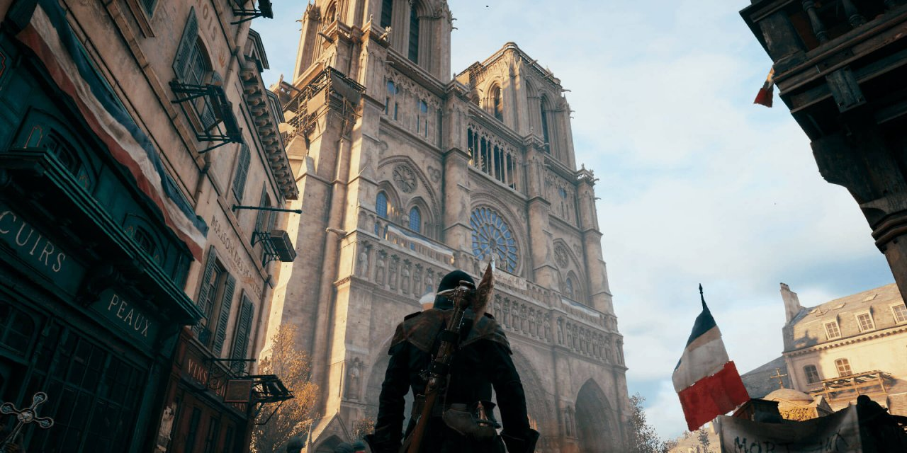 Assassin's Creed: podría ayudar a reconstruir Notre Dame