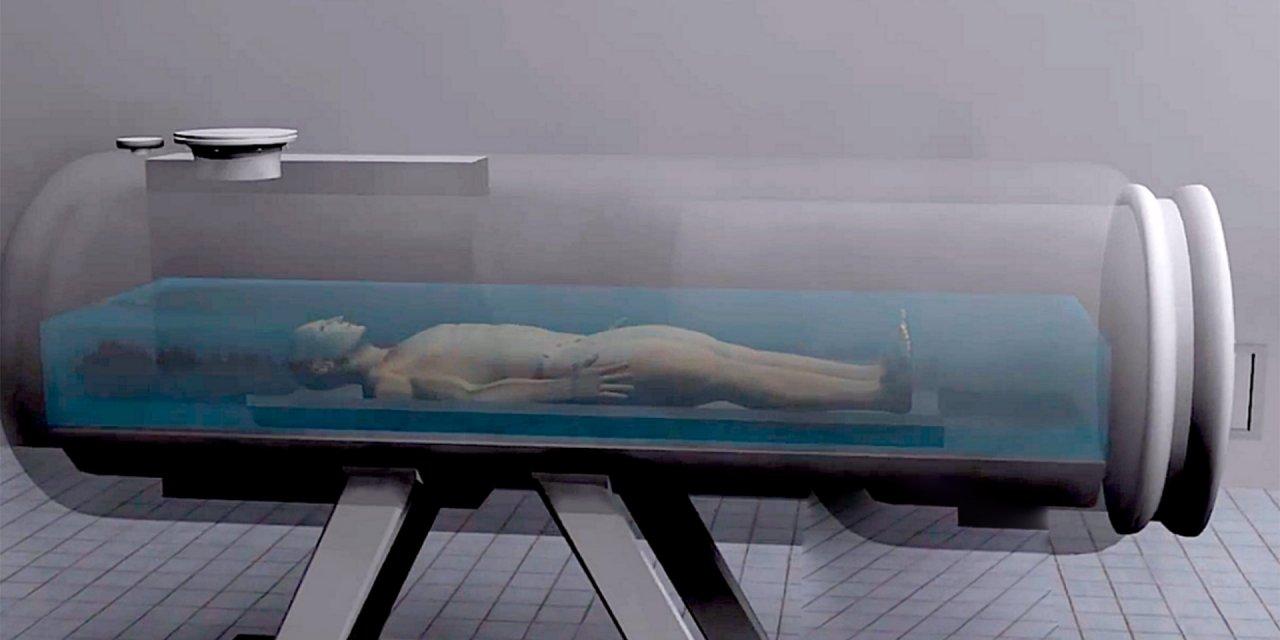 Primera máquina de cremación de agua llamada Acuamación