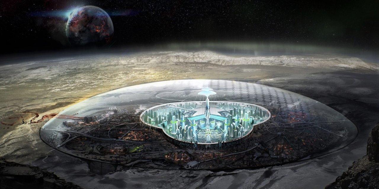 Ciudad extraterrestre encontrada en el lado oscuro de la Luna en imágenes de la NASA