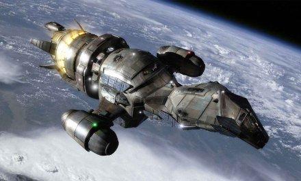 """Avistamiento de ovnis: La foto de la NASA Apolo 10 muestra un satélite extraterrestre """"Dark Knight"""""""