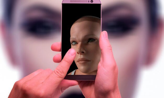 Así sería el ser humano en el futuro afectado por la tecnología móvil