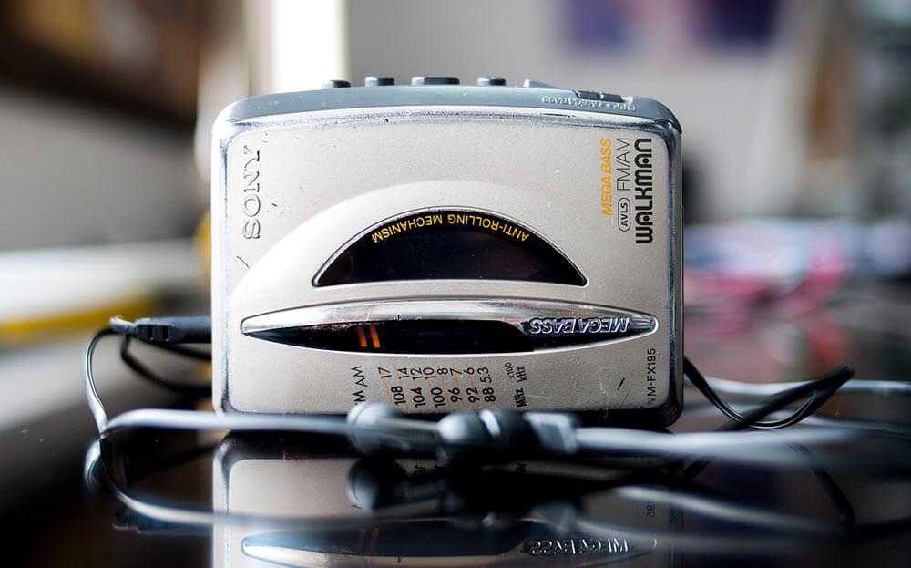 El Walkman Sony, está cumpliendo 40 años desde su lanzamiento