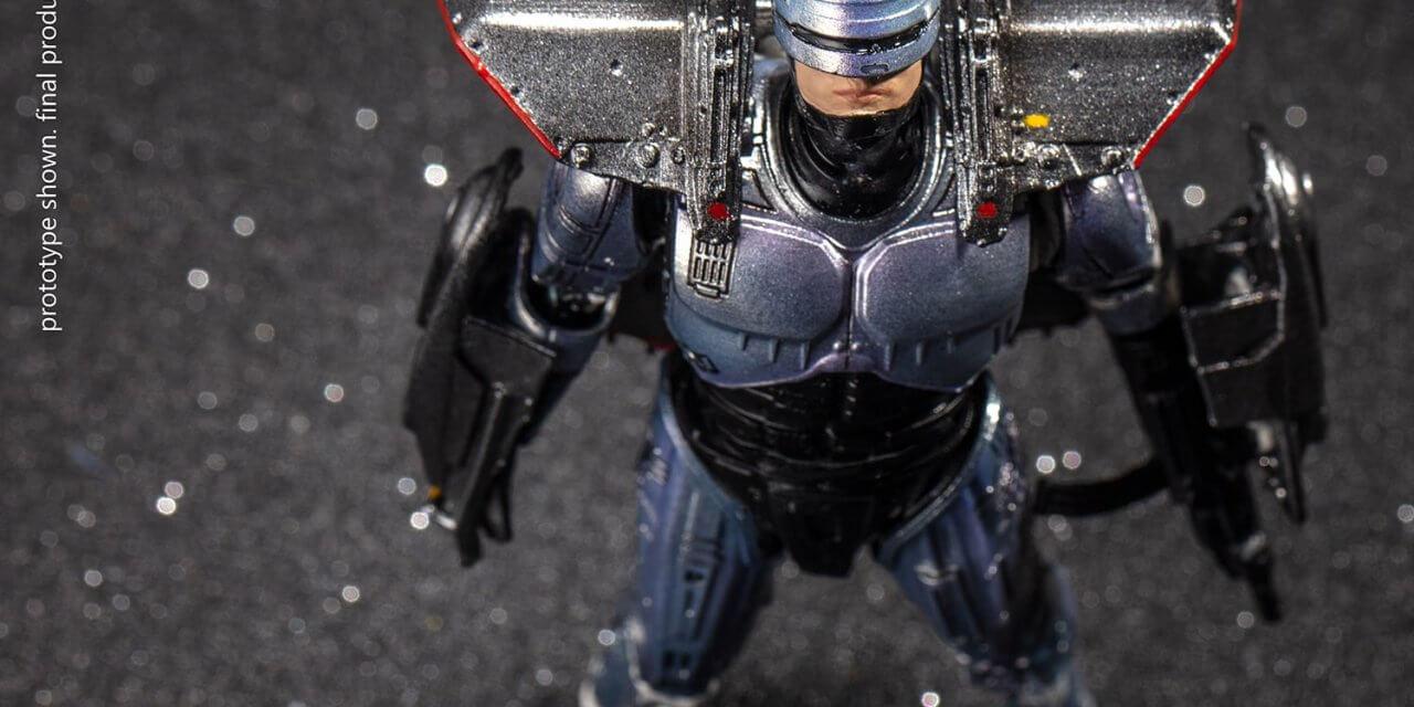 Esta es la espectacular figura de Robocop con tan solo 12.5 centímetros