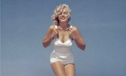 Hermosas fotos de Marilyn Monroe tomadas por Sam Shaw en la playa en 1957