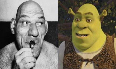 La verdadera historia de Shrek se basó en la conmovedora vida de Maurice Tillet