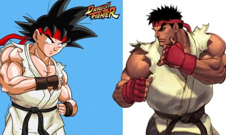 Increíbles imágenes de Dragon Ball si fuera Street Fighter