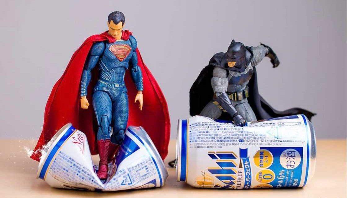 Increíbles fotografías que dan vida a los juguetes de Marvel y DC por Hot.kenobi