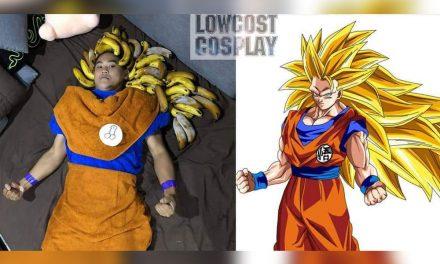 regresa el jóven que hace cosplay baratos, ¡es de no creer estas fotografías!