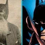 El caballero oscuro BATMAN, inspirado en la verdadera historia de Bill Smith, un hombre gordo y barbado